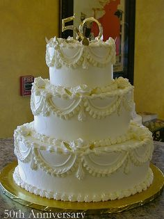 50th Anniversary by Creative Cakes - Tinley Park, via Flickr