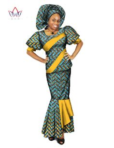 New African Dress New Summer Fashion Traditional Dresses For Women ...