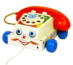 fisher-price chatter telephone - i used to think it looked like my mom