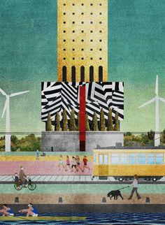 """""""La macchina scenografica"""" da """"Add it up!""""  - La Macchina Studio (Biennale di architettura 2016, Padiglione Venezia) www.additup.it"""