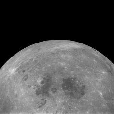 (Processed) Apollo 11 Hasselblad image from film magazine 38/O - Lunar orbit, Trans-Earth coast
