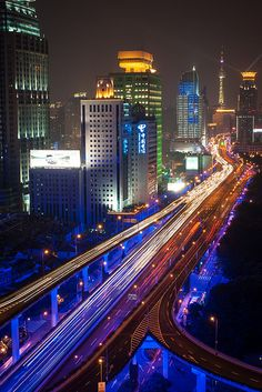 Shanghai, Yanan elevated road. #SecretTreasures