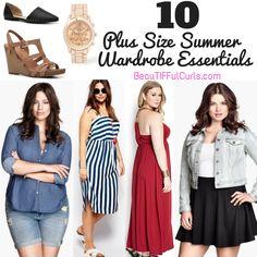 BeauTIFFul Curls: 12 Plus Size Essentials to Enhance Your Summer Wardrobe