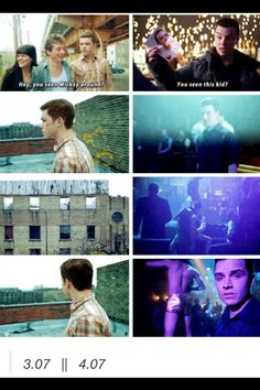 Ian and Mickey parallel