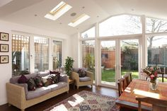 When do you need Planning Permission for your Conservatory? Do I need planning permission for my new orangery? Final Ideas for our Bradenha. Orangerie Extension, Conservatory Extension, Modern Conservatory, Conservatory Roof, House Extension Design, Roof Extension, Extension Google, Extension Ideas, Garden Room Extensions