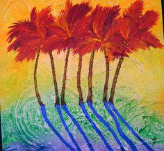 Heat Wave...acrylic on canvas...Susan Lane, Key Largo https://www.facebook.com/pages/Creative-Mind/319604758097900