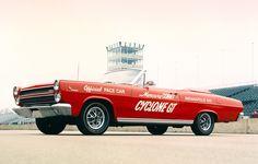 STRANGE OLDE INDY 500 PACE CARS - 1966 MERCURY COMET CYCLONE GT