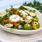 Salade-Courgette-Geitenkaas
