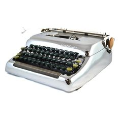 Goal: to write a book entirely on a type writer to get the authentic experience , & enjoy every moment of each word