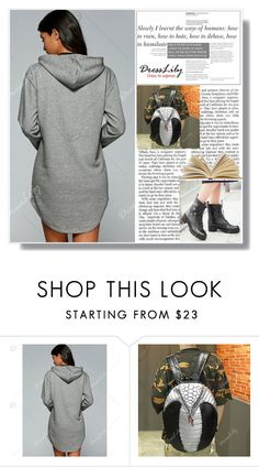 """Back to School"" by amra-sarajlic ❤ liked on Polyvore featuring dresslily"