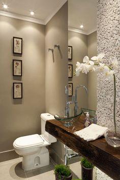 #Orquídeas en el baño