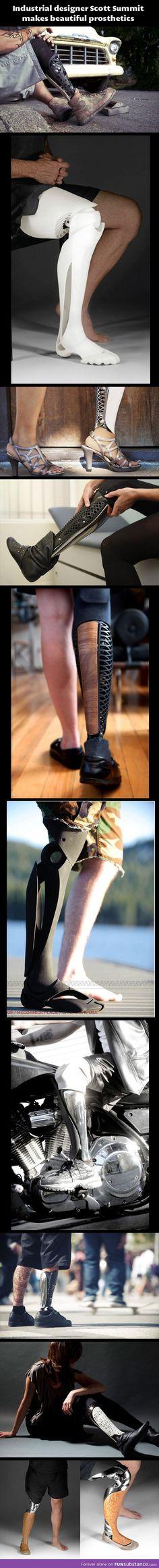 Beautiful prosthetics