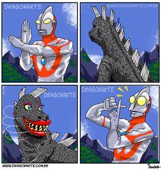 hehehehe... Ultraman - www.dragonarte.com.br - Lucas Nascimento