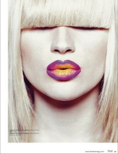 Published work in T&M Magazine.  Hair and Makeup by BeautyByNicole.com  Photo by Bri Johnson  Model Zhanna Ved