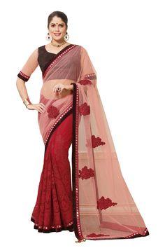 Designer Saree Sari Traditional Indian Bollywood Party Evening Bridal Ethnic #NA #Sari