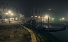 Notturno Veneziano. Venice, Italy. #Atmosphere #Canal #Canale #Bridge #DarkAtmosphere #Dreamy #Dream #fineart #FairyTale #fineartphotography #Fog  #Foggy #FotografiaNotturna #Gondolas #StreetLights #Venice #WideAngle #Veneto #Venezia #travel #StreetLamps #PontedeiSospiri #NightShot #Night #Mood #Ponte #NightPhotography #Moody #Posts #marcoromaniphotography #marcoromani #Lampioni #Lagoon #Lamps #Midnight #Gondola #Laguna #Venetian #Nikon #Feisol #Nikkor #NikonD800 #blue #italy #italia
