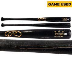 Seth Smith San Diego Padres Game-Used Broken Rawlings Bat used by Tommy Medica vs Cincinnati Reds on July 1, 2014