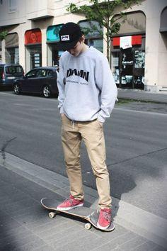 afcf18abb75 Skater Look การแต่งตัวแนวสเก็ตเตอร์คูล ๆ. Skater Boy StyleSkater ...