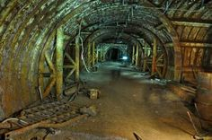 By: Lindsey Hogan The Cold War Era was full of uncertainty and fear. Old Buildings, Abandoned Buildings, Abandoned Places, Cold War Propaganda, Underground Bunker, E Mc2, Modern History, Interesting History, State Art