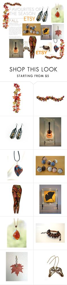 """""""Fall Favorites on Etsy"""" by glowblocks ❤ liked on Polyvore featuring Improvements and Shamballa Jewels"""