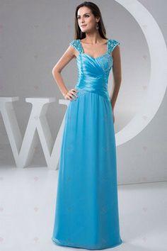 Mantel Bateau Cap Sleeveless Holzleisten und Plissee Prom Dresses 230,59 €   131,09 €