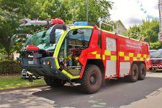 Gatwick Airport Crash Tender