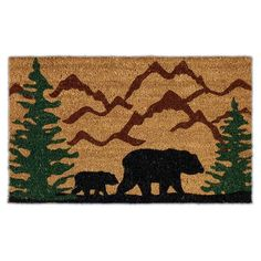 Wholesale - Bear Country Doormat - DII Design Imports
