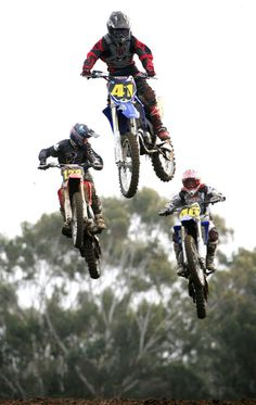 Dirtbikes with friends