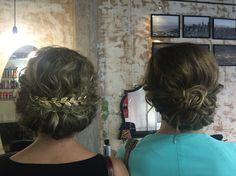 Romantic updo by The Room