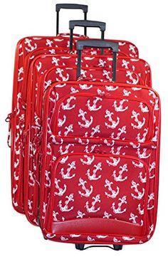 Ever Moda Red Nautical Anchors 3 Piece Expandable Luggage Set Ever Moda http://www.amazon.com/dp/B00W67OCZE/ref=cm_sw_r_pi_dp_Xzo-wb0AQ61X9