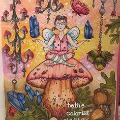 Klára Marková -- Čarovné Lahodnosti.  #kláramarková #čarovnélahodnosti #adultcolouring #adultcoloring #adultcolouringbook #adultcoloringbook #zestit #shitilovetocolor #bayan_boyan
