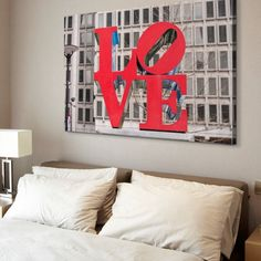 Robert Indiana's iconic Love sculpture in front of a skyscraper in Virginia Beach, Virginia. Love Sculpture in Virginia Beach, Virginia Wall Art by Circle Capture from Great BIG Canvas. Go bold with iconic wall decor from Great BIG Canvas. Framed Prints, Canvas Prints, Big Canvas, City Skyline Art, Wall Decor, Wall Art, Virginia Beach, Love Art, Bed Pillows