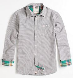 Vans Leland Long Sleeve Woven Shirt -