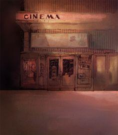 Mise en couleur - Cinema
