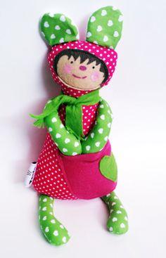 Tapi the pocket doll by Toela on Etsy, €25.00