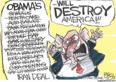 """The list of Republican lies about how Obama will supposedly """"destroy America"""""""