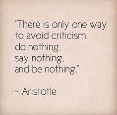 I'm ok with you critisizing me ;)
