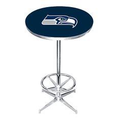 Seattle Seahawks Pub Table, Multicolor