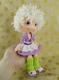 Астрочка по описанию Ани Садовской - Мои игрушки - Галерея - Форум почитателей амигуруми (вязаной игрушки) ♡