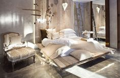Stunning Hotels Concept with Some Combinations Theme : Rustic Bedroom Decor Wooden Bedroom Couch Hotel Decor Design Hotel, House Design, Home Bedroom, Bedroom Decor, Bedroom Couch, Wooden Bedroom, Bedroom Rustic, Interior Architecture, Interior Design