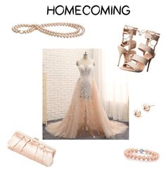 """""""Peachy Keen"""" by angline1234 on Polyvore featuring Schutz and Nina"""