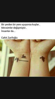 Bir yerden bir yere uçuyorsa kuşlar Cahit Zarifoğlu
