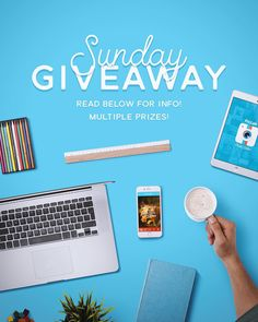 -- CONTEST CLOSED-- Another weekend Giveaway! We're giving away 3 prizes to 3 lucky winners! A watch by #1Face, a selfie-stick from @izzigadgets and sunglasses from @dickscottons! Entering is easy! Check our Instagram for details: @PicLab