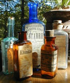 i wish i could have lived in the time period where these bottles came from. heroin, cocaine, all sorts of now illegal drugs you could get at any pharmacy