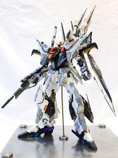 Custom Build : 1/100 RX-105 XI Gundam + Full Led Mod - Gundam Kits Collection News and Reviews