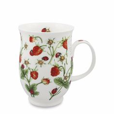 Win Strawberry Tea, Strawberry Preserves & A Dovedale Strawberry Mug Strawberry Tea, Strawberry Preserves, Fancy Dishes, Take My Money, Prince Edward Island, Bed And Breakfast, Sewing Crafts, Mugs, Trivia