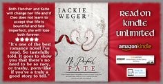 """#5Stars """"... a book that has made the reader cry with joy, laugh with sorrow"""" #READ #FREE on #KindleUnlimited #BOOK No Perfect Fate by #Bestselling #Author Jackie Weger http://amzn.to/2Gazd10 """"...a winner!"""" #inspirational #romance #amreading #fiction #mustread @JackieWeger"""