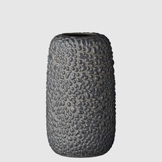 Gemma medium vase - dark grey, AYTM