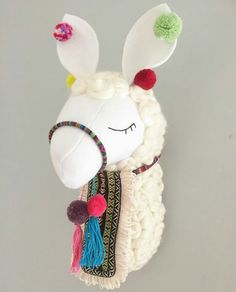 Alpacas, Sewing Crafts, Sewing Projects, Llama Decor, Cactus Craft, Llama Gifts, Faux Taxidermy, Felt Baby, Sewing Dolls