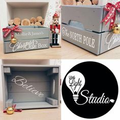 Personalised Christmas Eve crate Christmas eve box kids